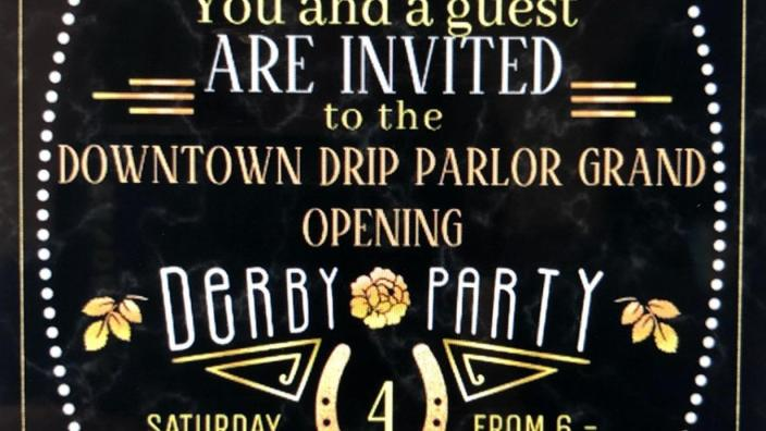 Drip Parlor Grand Opening