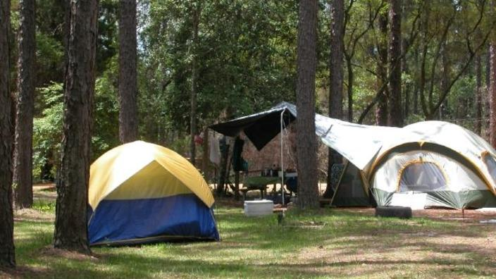 State parks, Camping spots