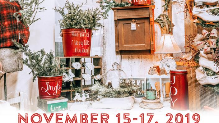 Vintage Market Days of the NC Triangle Presents: Home for the Holidays