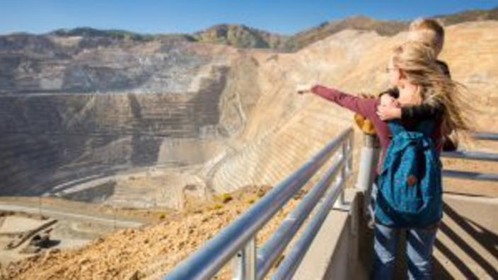Rio Tinto Kennecott Visitor Experience at Bingham Canyon Mine