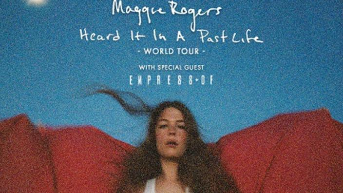 Maggie Rogers Heard It In A Past Life 2019 Tour With Empress Of