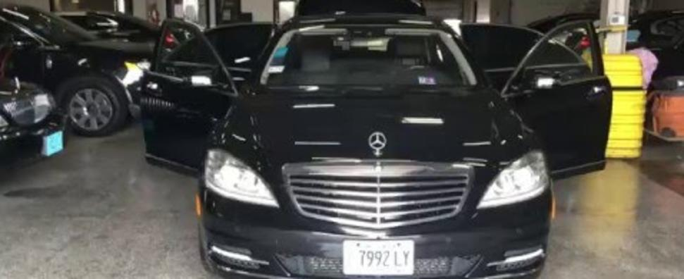 Mercedes S-Class Luxury Executive Sedan