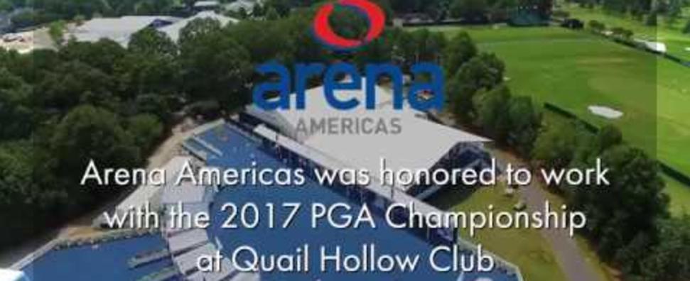 Arena Americas at the 2017 PGA Championship