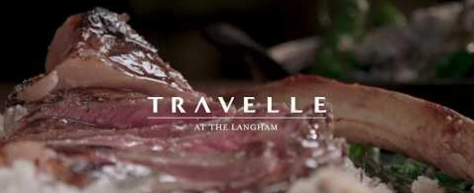 Travelle at The Langham Tomahawk Steak