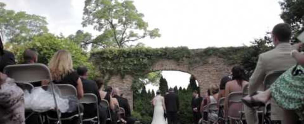 Wedding at Winnetka Community House