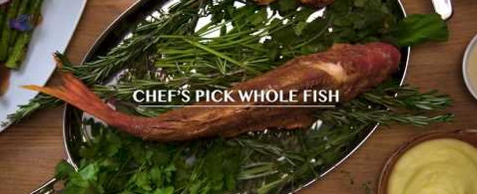 Travelle Chef's Pick whole Fish