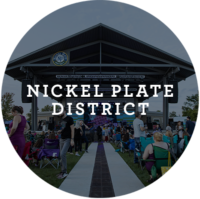 Nickel Plate District Button