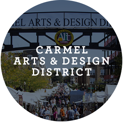 Carmel Arts and Design District Button