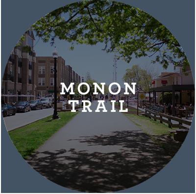 Monon Trail Button