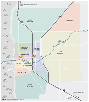 Boulder Neighborhood Map