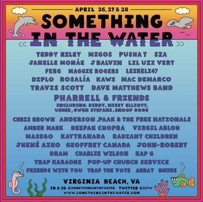 Something In The Water Lineup