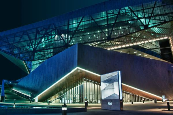 Irving Convention Center - blue