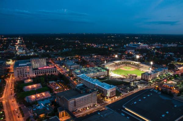 Parkview Field Skyline - Fort Wayne, IN