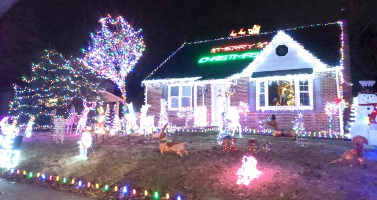 Bucks County Residential Holiday Lights Driving Tour