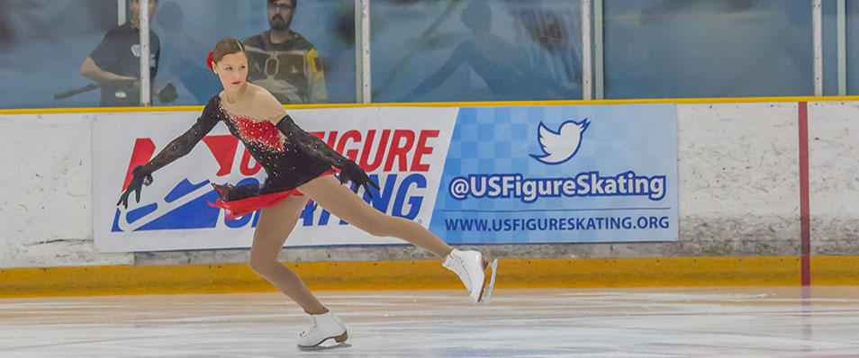 figure skating at suburban ice