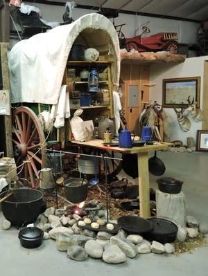 Messenger Museum Chuckwagon