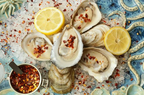 Peat and Pearls oysters