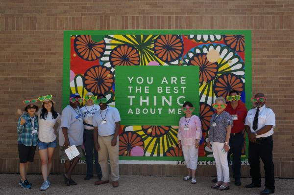 civic center mural