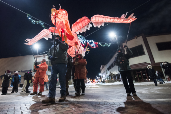 Light Up Eau Claire Lantern Parade