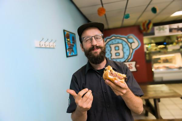 Bravas Owner - Photo by Dustin McKibben for Fort Wayne Magazine