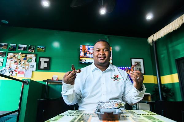 Ivy's Jerk Chicken Owner - Photo by Dustin McKibben for Fort Wayne Magazine