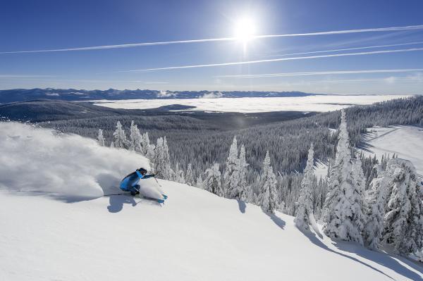 Downhill Skiing at Big White