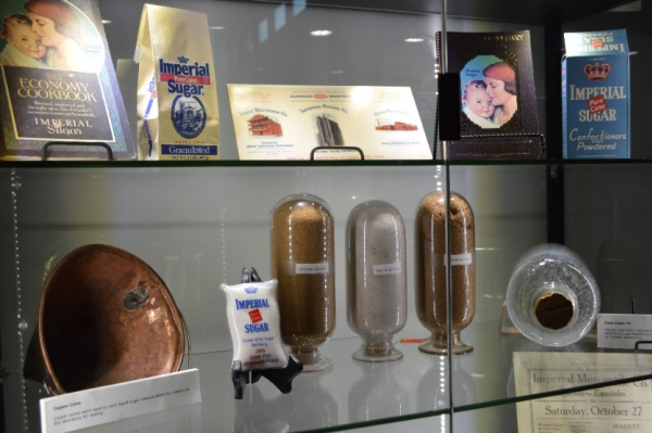 Artfiacts from Imperial Sugar's history