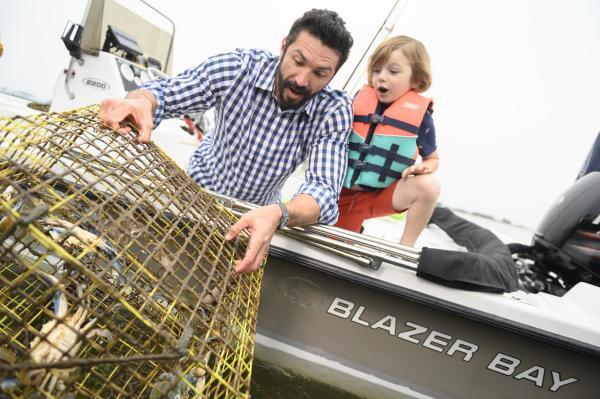 Family Crabbing in Coastal Mississippi