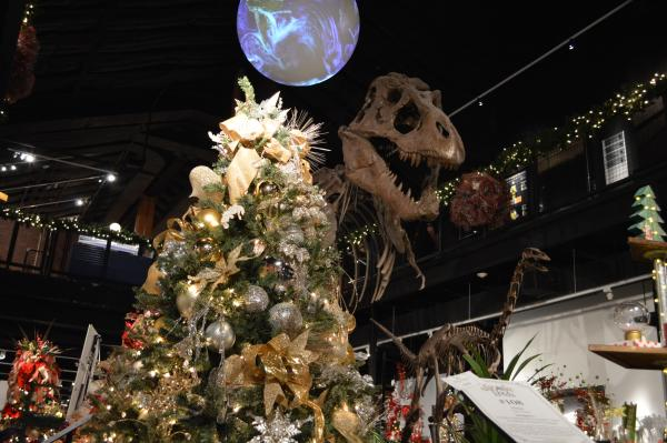 Jingle Trees: Tree Lighting event at the Houston Museum of Natural Science at Sugar Land.