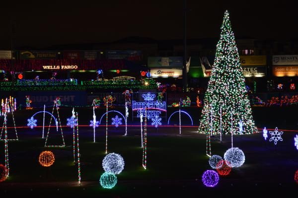 Sugar Land Holiday Lights at Constellation Field.