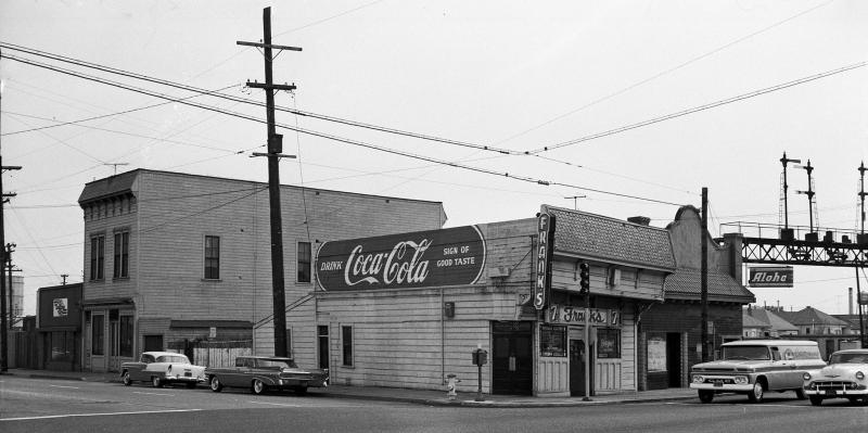 Fruitvale and East 12th Street in 1962