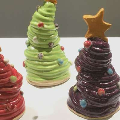 Christmas Clay Workshops with Cray Charlebois