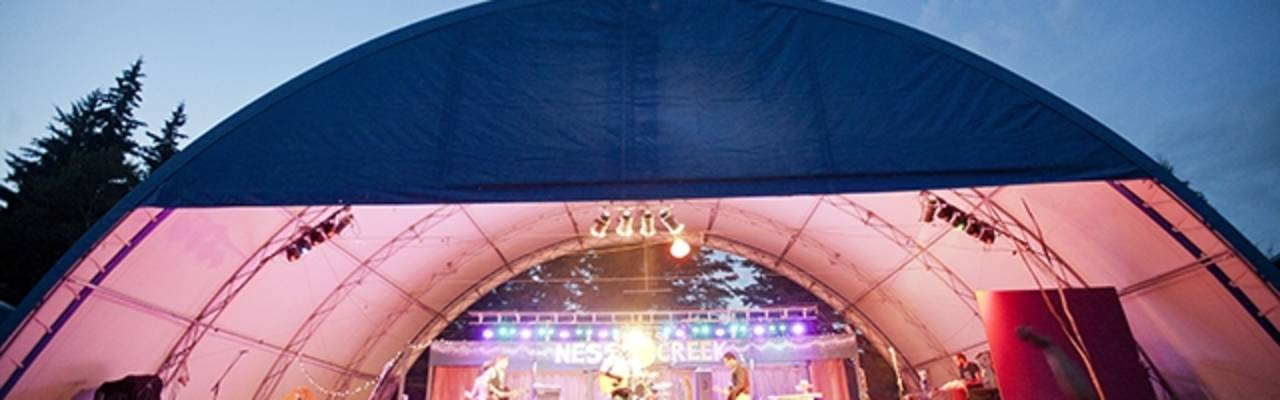 Ness stage view
