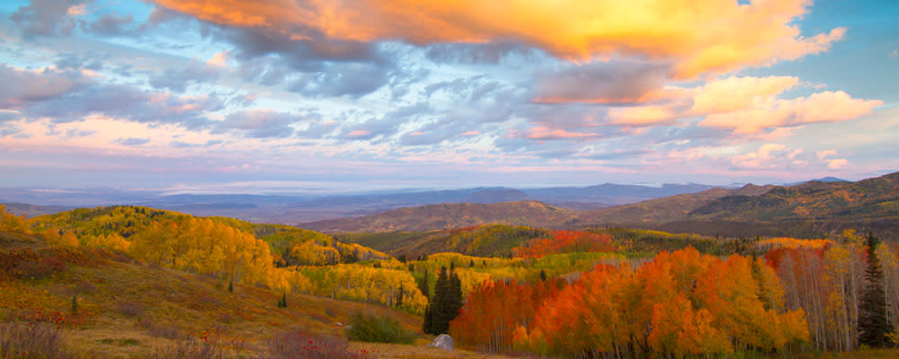 Buffalo Pass offers stunning views in the fall