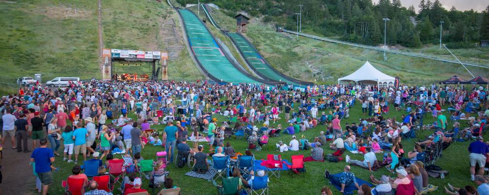 Attendees groove to the sounds of big name bands at the annual Free Summer Concert Series in Downtown Steamboat Springs.