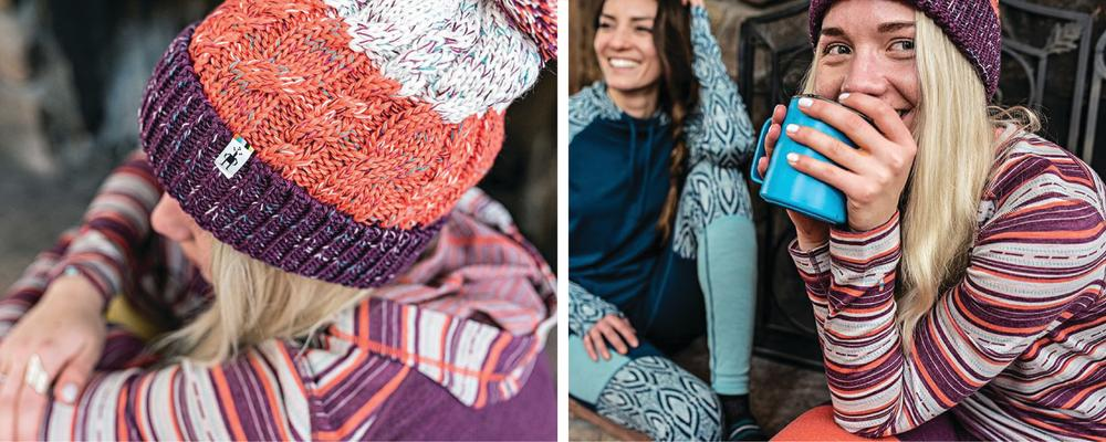 Cozy up in a smartwool base layer