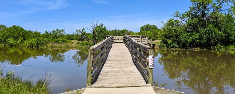 Great Plains Nature Center Trail