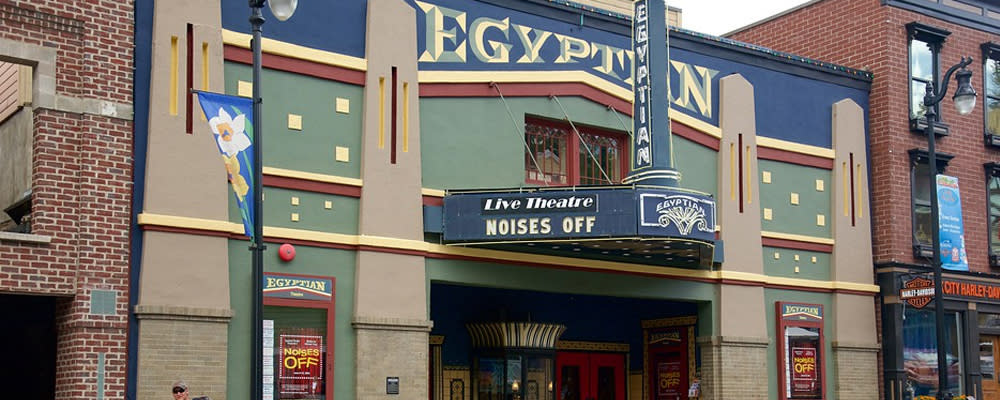 Egyptian Theater exterior in Park City