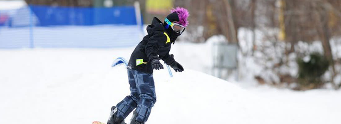 Spring Mountain Snowboarding
