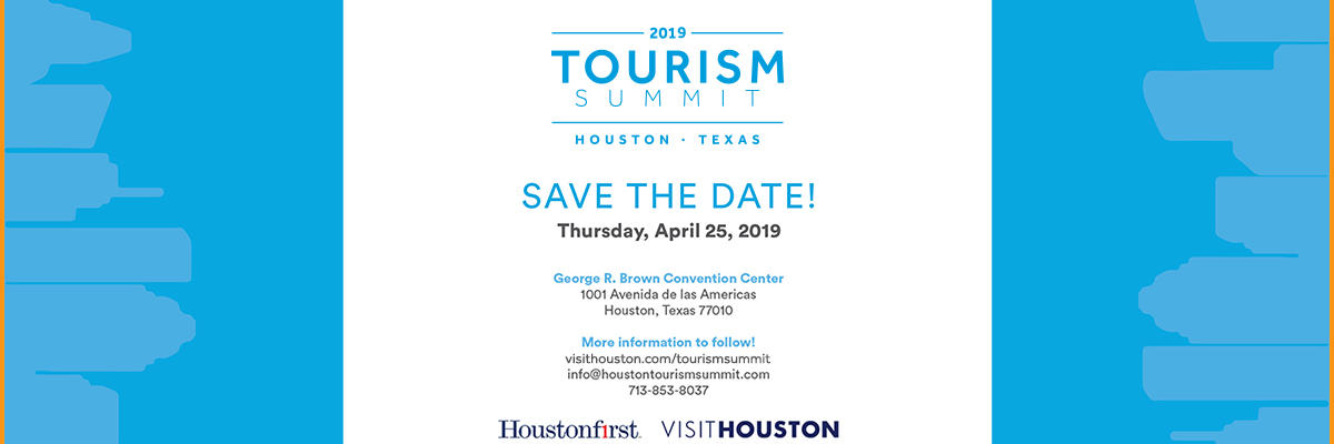 Tourism Summit - Save The Date