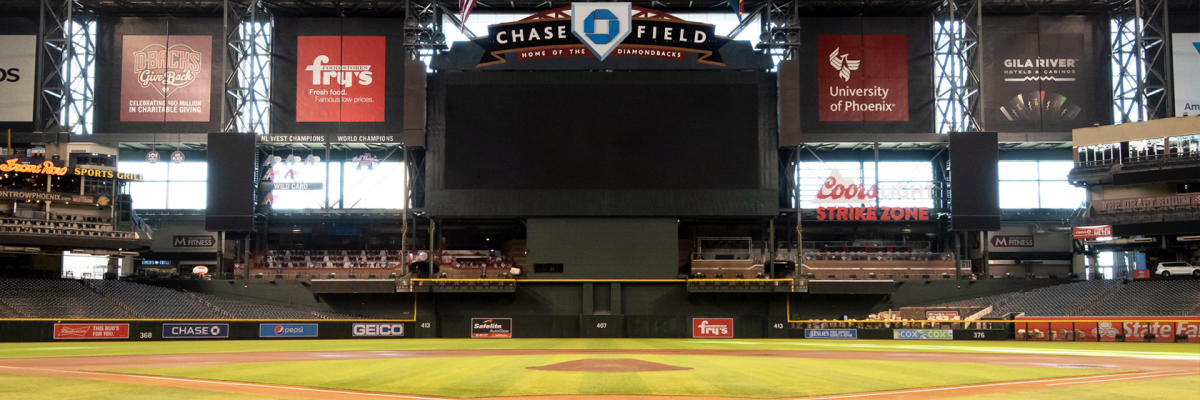 Chase Field Header