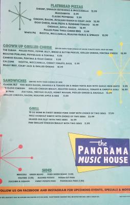 Panorama Music Menu
