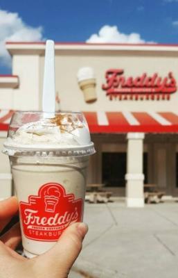 Freddys Frozen Custard Pumpkin Spice Concrete