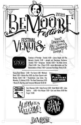 Be Moore Festival Flier