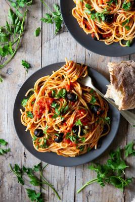 Brown Bag Cafe Spaghetti