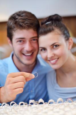 Shopping for wedding rings