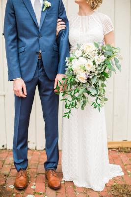 Blue Suit South County Weddings