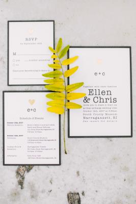 Recycled Paper Wedding Invitations