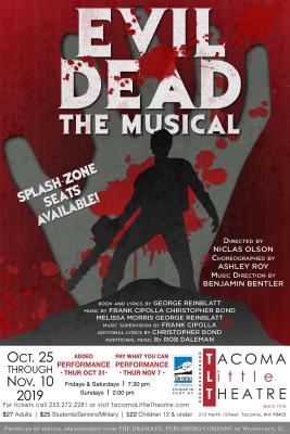 Evil Dead Musical at Tacoma Little Theatre