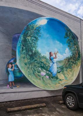 Dreams mural